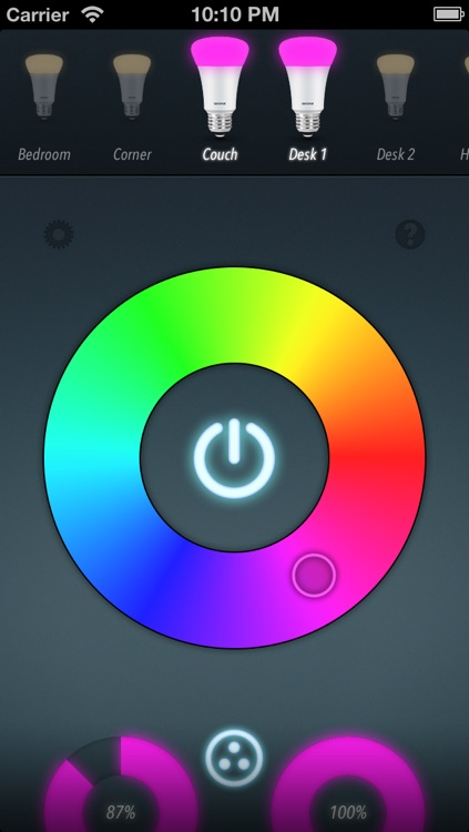 QuickHue - The easy to use Hue Remote