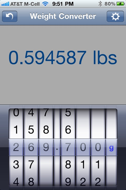 Weight Converter screenshot-2