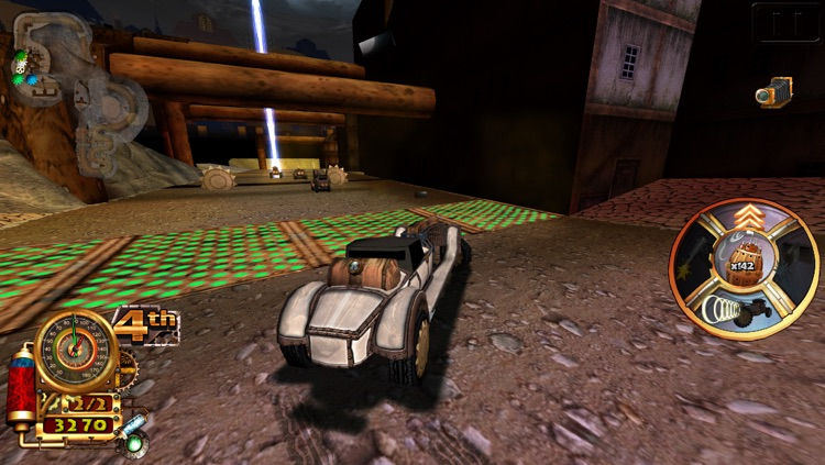 Steampunk Racing 3D screenshot-1