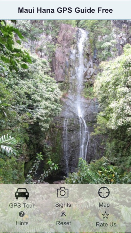 Maui Road To Hana GPS Guide Free