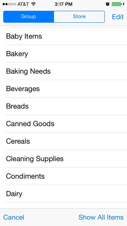 Shopping List。 screenshot-2