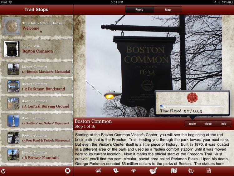 Tour Boston's Freedom Trail for iPad screenshot-4