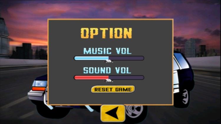 Doodle Police Car Hill Racing Free Game screenshot-3