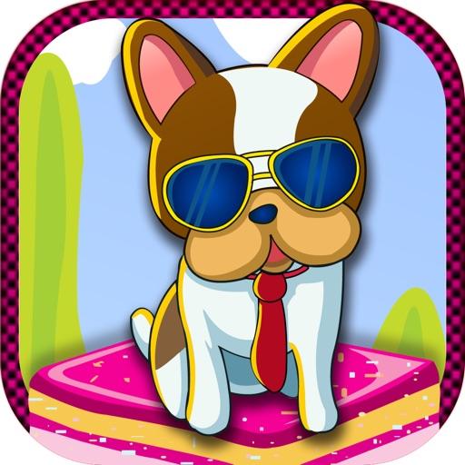 Dog Cake Bouncing Mania - Puppy Bounce Cupcake Jump Pro