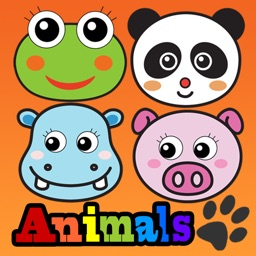 Touch Animals HD PRO, Animated Zoo and Farm Cartoon Animals for kids