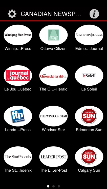 Canadian Newspapers Plus - Canada News by sunflowerapps screenshot-4