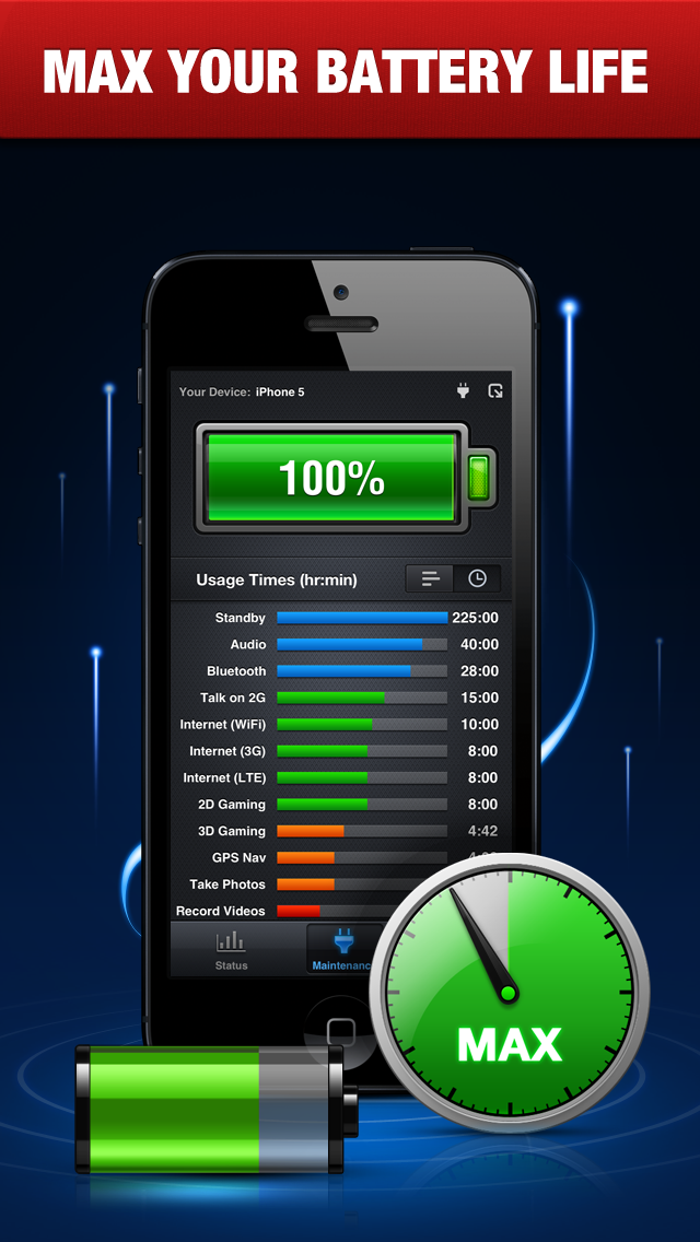 電池ブースターFree ScreenShot0