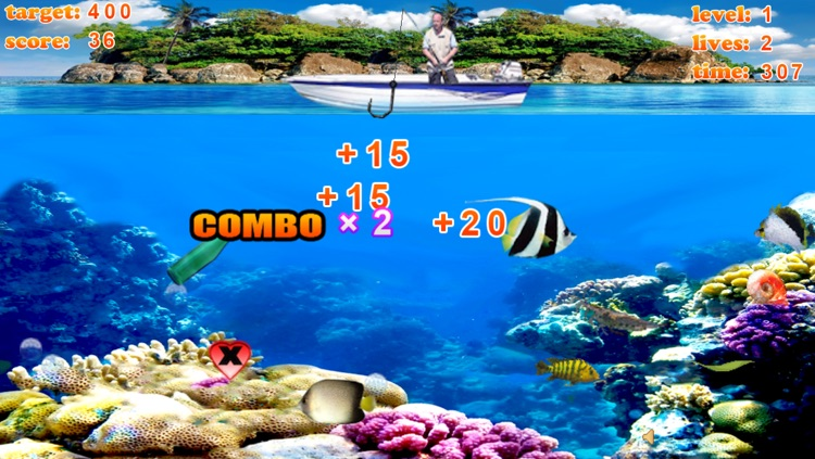 Crazy Finger Fishing Free screenshot-2