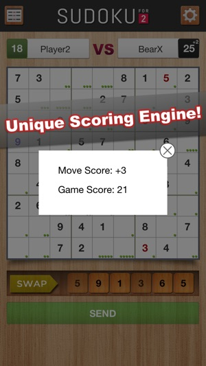 Sudoku For 2 Screenshot