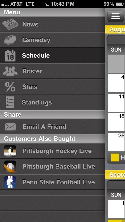 Pittsburgh Football Live screenshot-3