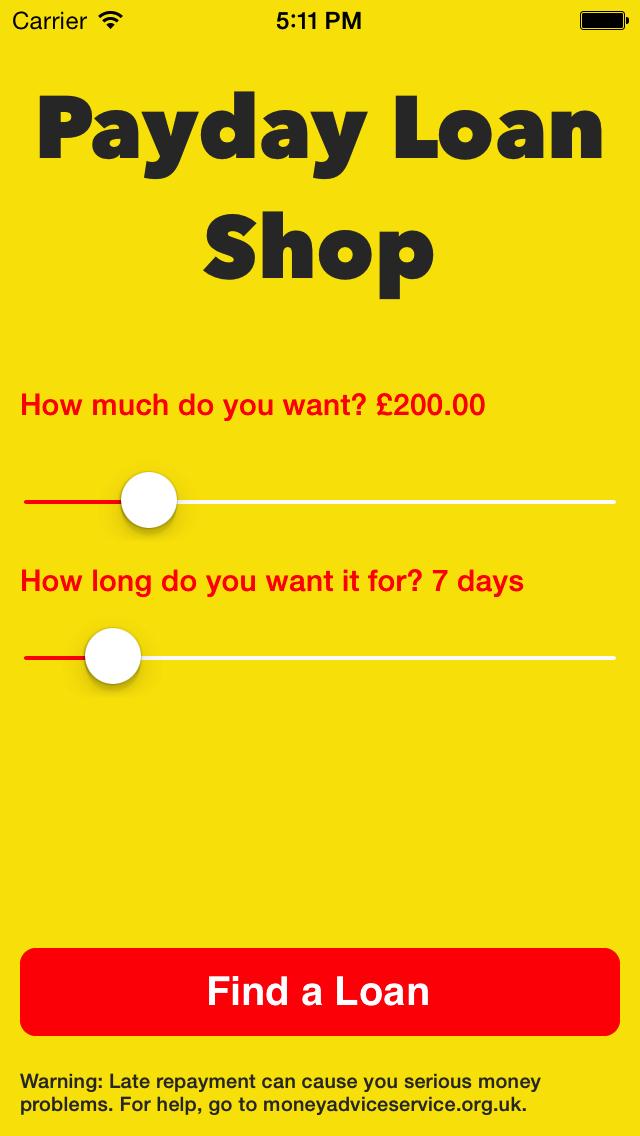 Payday Loan Shop UK screenshot two