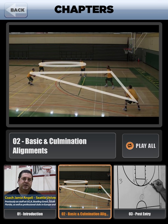 The FUSION Offense: Princeton, Triangle & 1 - 4 - With Coach Jamie Angeli - Full Court Basketball Training Instruction - XL screenshot-3