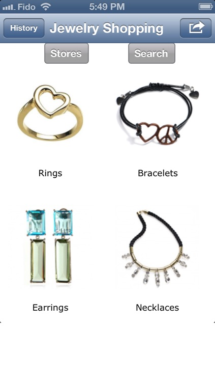 Jewelry Shopping App - Shop at the Best Online Stores