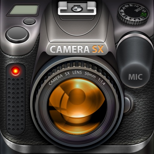 Camera SX Pro for iPad : Photo with Sound