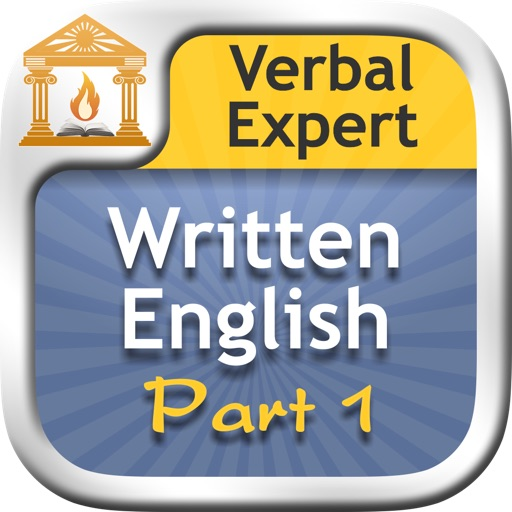 Verbal Expert : Written English Part 1 icon