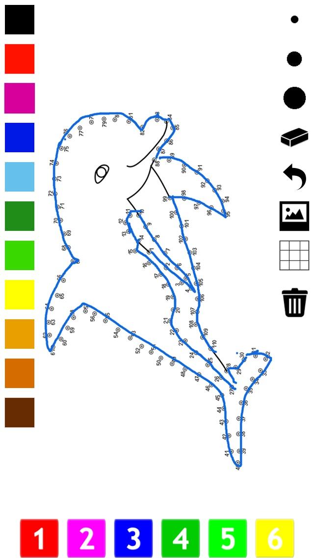 Pintar por números para los niños: Libro para colorear, conectar los ...