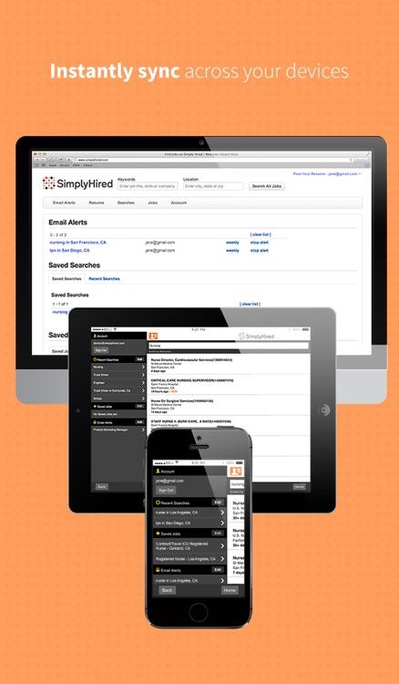 Job Search - Simply Hired screenshot-3