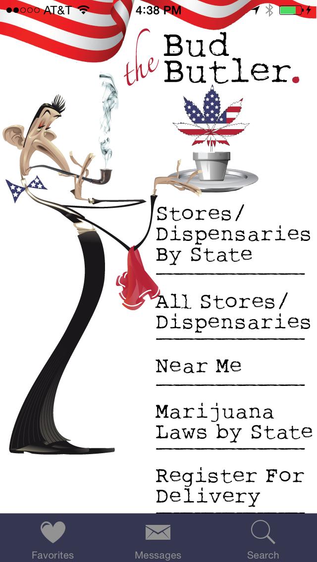 Bud Butler - Your Guide to Legal Medical Marijuana Dispensaries and Stores Screenshot