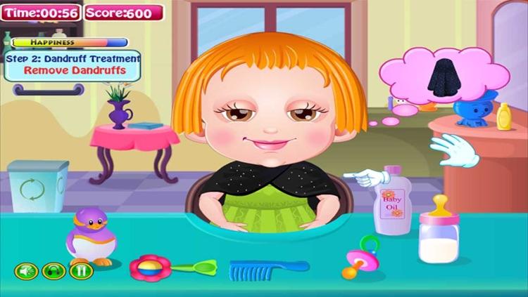 Lovely Baby Cut Hair