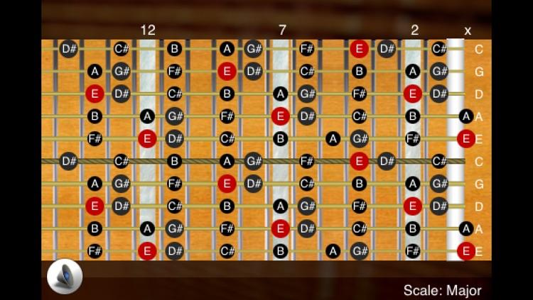 FretBoard LE: Chord, Scale, Note & Mode on Guitar, Bass, Ukulele, Banjo, Violin & stringed instruments screenshot-4