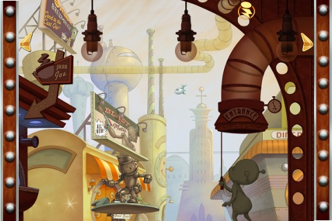 Cozmo's Day Off - Children's Interactive Storybook screenshot-3