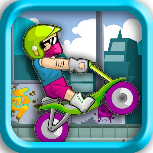 Alley Biker Contest icon