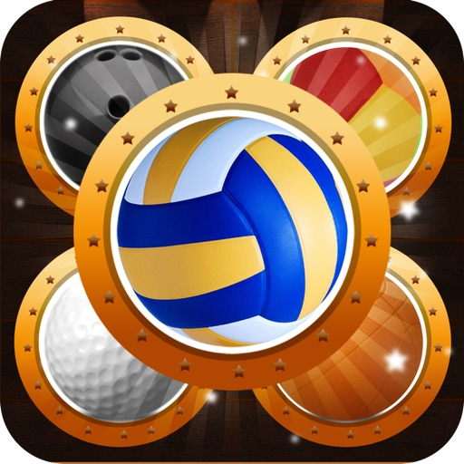 Sport Ball Puzzle Match Blitz - Solve Matching Volleyball & Basketball Quest Hero Free