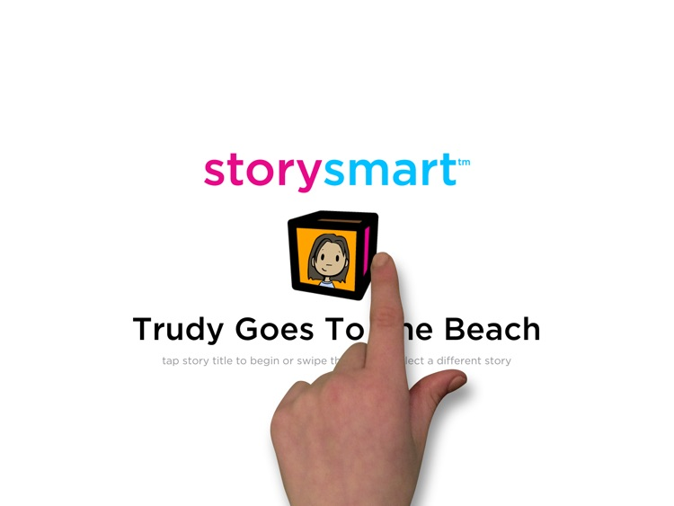 storysmart1: Trudy Goes to the Beach - Social Language Skills