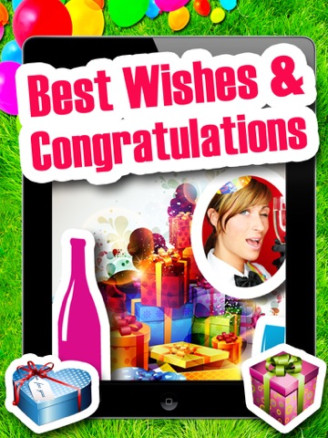 Best Wishes & Congratulations - グリーティングカードのおすすめ画像1