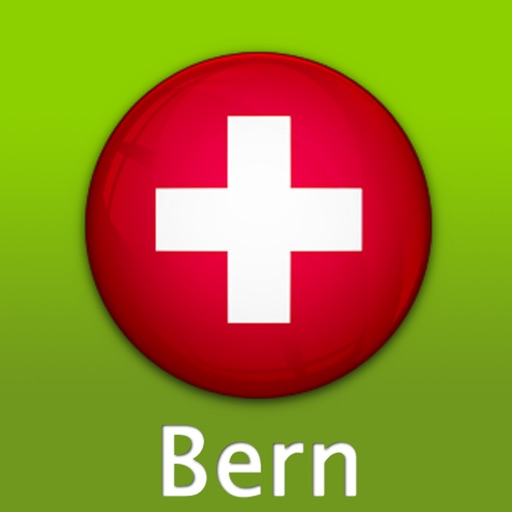 Bern Travel Map (Switzerland)