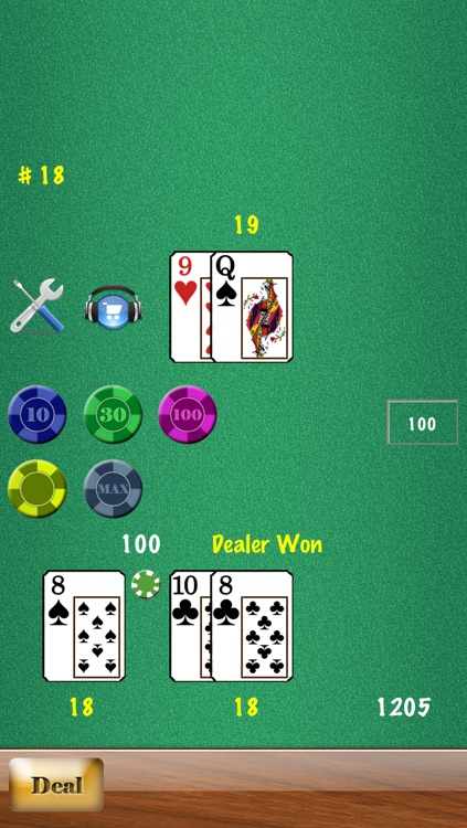 Blackjack Free HD screenshot-4