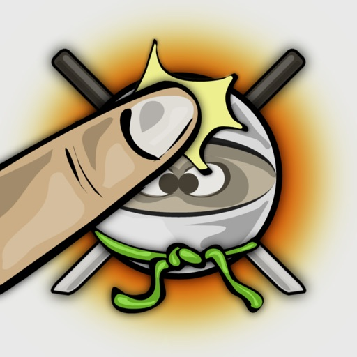 Ninja Strike Free - finger tap games icon