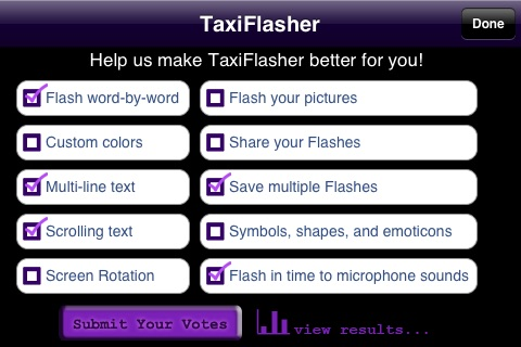 TaxiFlasher screenshot-4