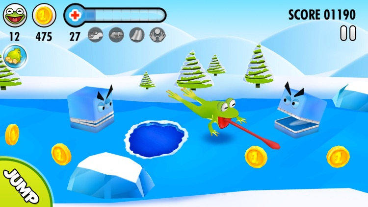Frog on Ice screenshot-0