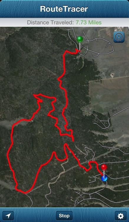 RouteTracer - Simple Trail Navigation screenshot-4