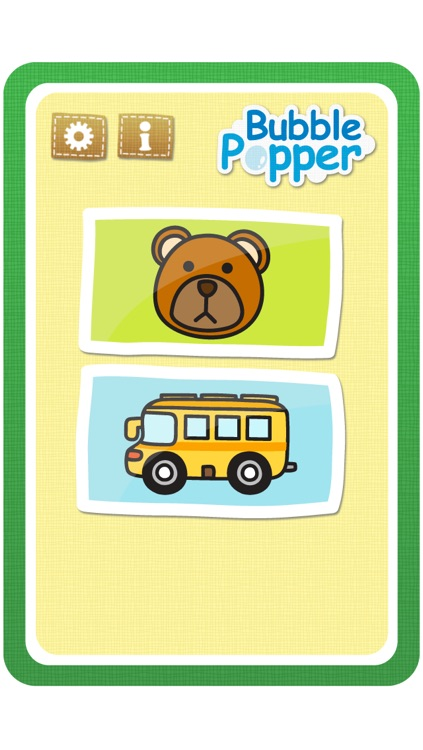 Baby Bubble Popper:Baby Flashcards series (Animal and Transportation)