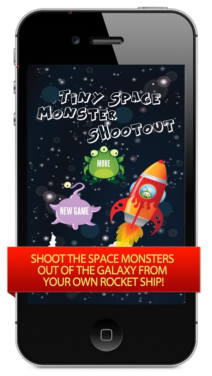 A Tiny Space Monster Shootout – Blast the Flying Invaders Before They Take Over Your Galaxy