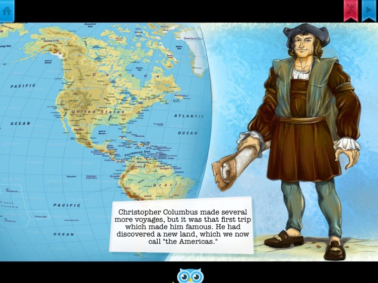 Christopher Columbus - Have fun with Pickatale while learning how to read. screenshot-3