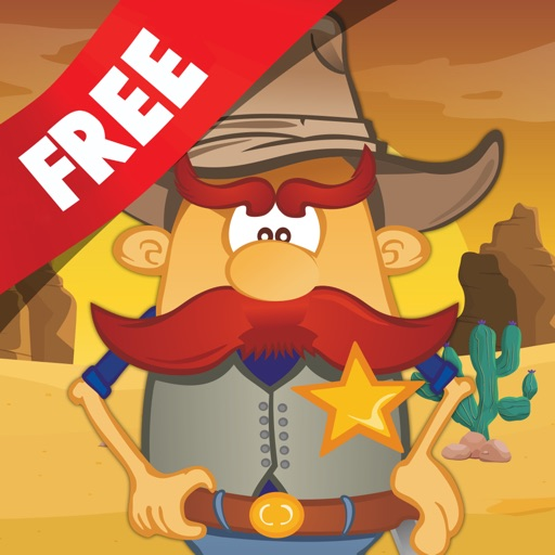 Free Kids Puzzle Teach me Cowboys and Indians Cartoon: Learn about Indian adventures and cool cowboys