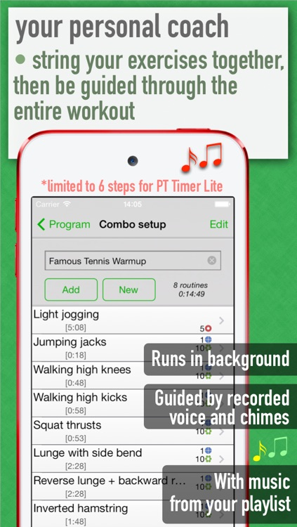 PT Timer Lite: Stretch & Exercise screenshot-3