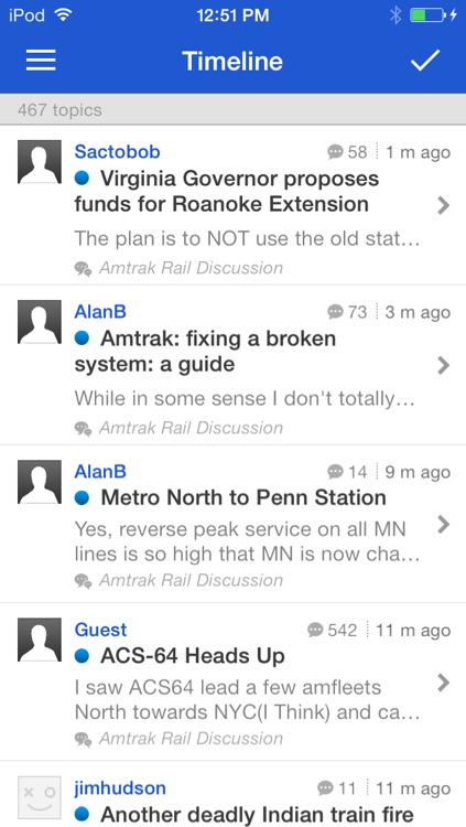 Amtrak Forum