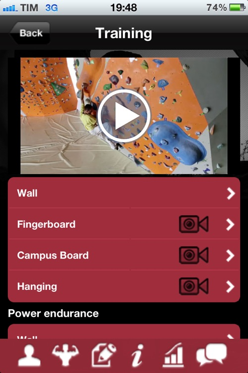 The Core Training – training for climbing by Christian Core screenshot-3