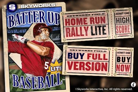 Batter Up Baseball™ Lite - The Classic Arcade Homerun Hitting Game