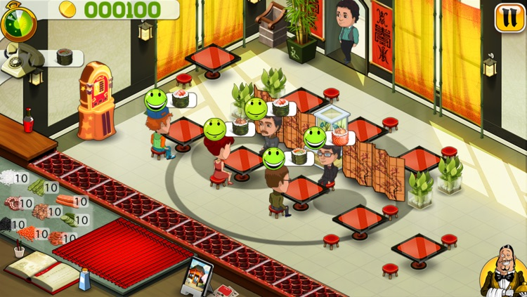 Master Sushi HD screenshot-4