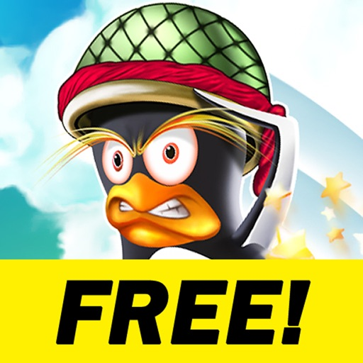 Angry Penguin Catapult HD Free icon