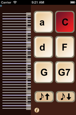 iAutoharp screenshot 1