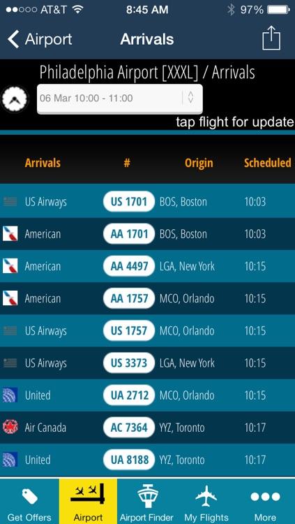 Philadelphia Airport - Flight Tracker PHL
