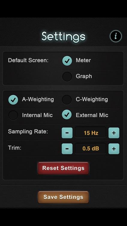 Graphing Decibel Meter screenshot-4