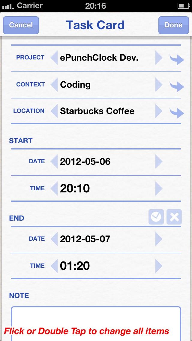 ePunchClockのスクリーンショット3