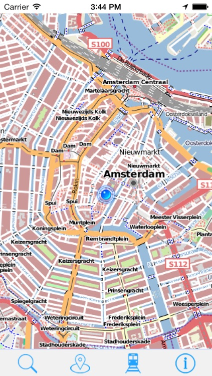 Offline Map Amsterdam - Guide, Attractions and Transport